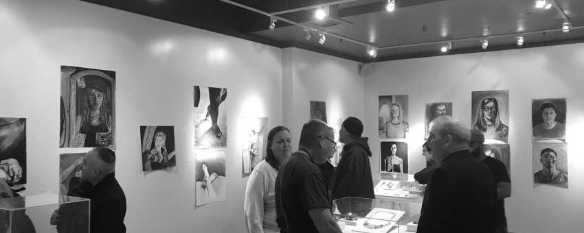 2018 Howe Gallery reception