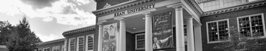 Kean students walk outside of East Campus