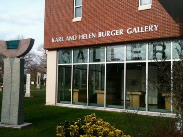 The Karl and Helen Burger Gallery at Kean University
