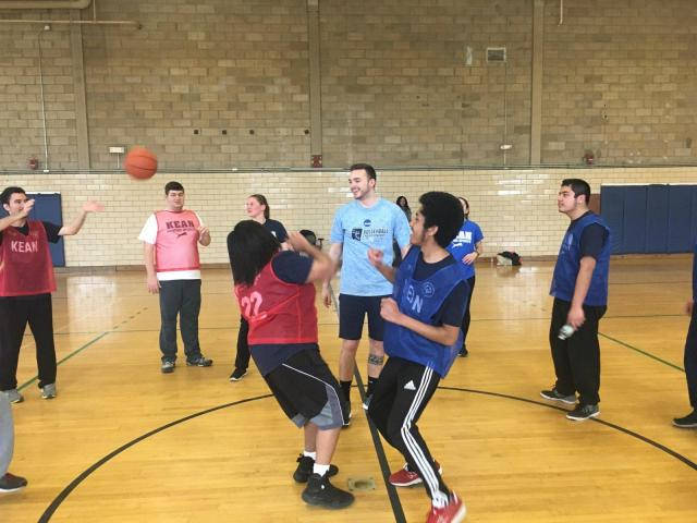 Recreation administration majors participate in Special Olympics Unified Sports