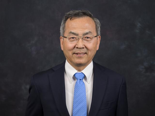 Dean Jin Wang, Ph.D., of the Kean College of Business and Public Management