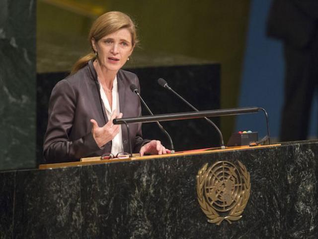 Former ambassador to the U.N. Samantha Power