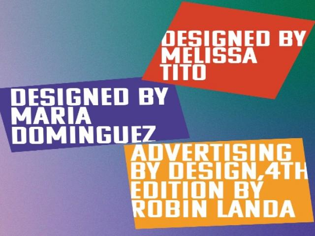 A graphic image with the names Melissa Tito, Maria Dominguez and Robin Landa