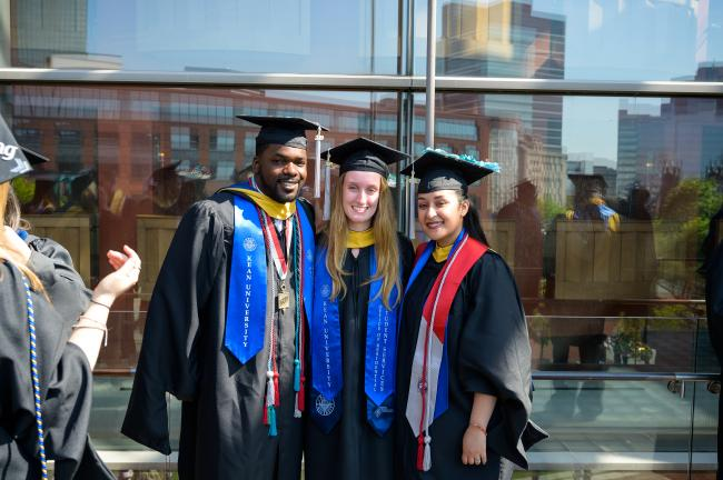 2019 students at Kean University commencement at NJPAC
