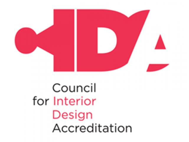 The logo of the Council for Interior Design Accreditation