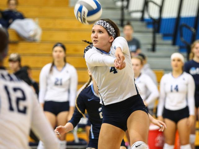Victoria Stec '19, Physical Education Teacher Certification playing Women's Volleyball with the Kean Cougars