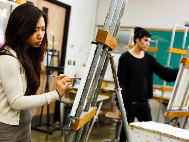 Art Education - Kean student painters
