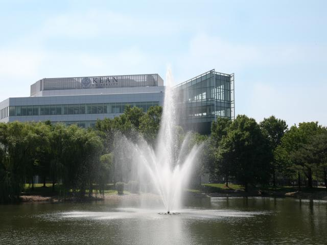 Kean University Fountain photo