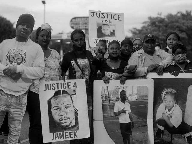 Image of JUSTICE FOR JAMEEK LOWERY from Come Together Exhibition