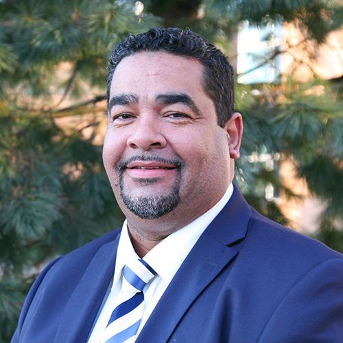 Carlos Nazario, Director of Admissions headshot