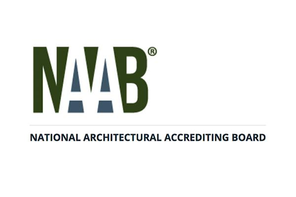 The logo of the National Architectural Accrediting Board