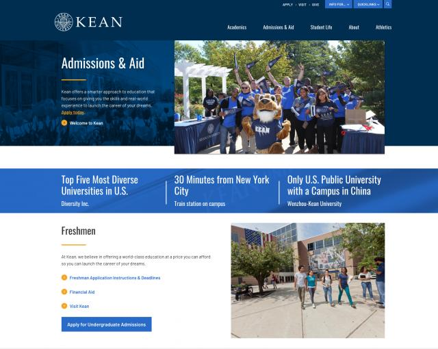 Kean University Academic Calendar.New Kean Edu Launches For Fall 2018 Semester Kean University