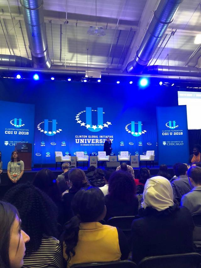 CGIU brought together some 1,000 students to work on solutions to global challenges