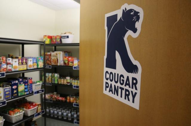 Food pantry for Kean students