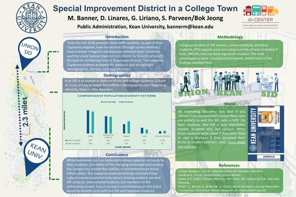 Special improvement district research poster