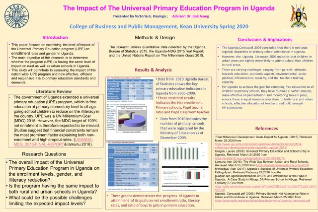 Poster for Research Days 2020