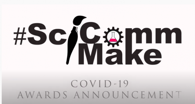 SciComm Make Award screenshot of logo