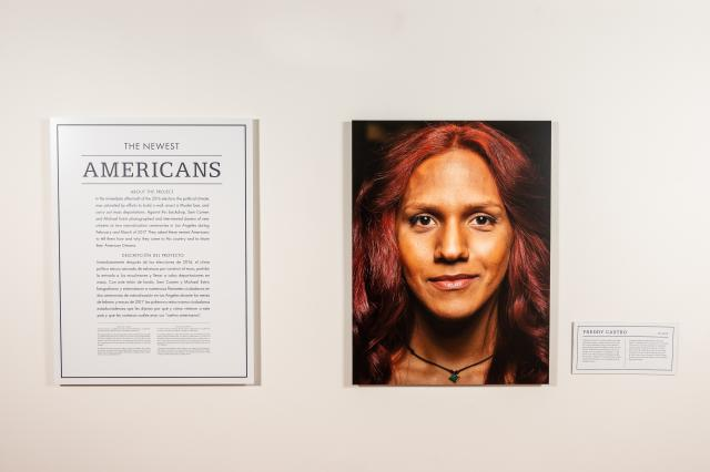 Image from The Newest Americans Exhibit At Kean Galleries