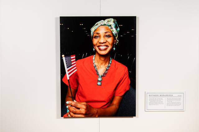 The Newest Americans is on exhibit at Kean