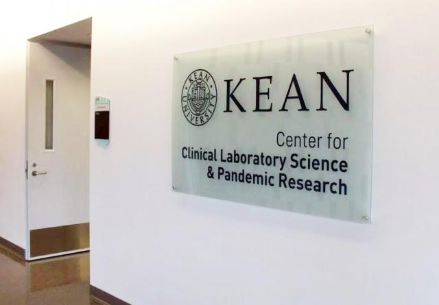 Center for Clinical Laboratory Science and Pandemic Research Sign