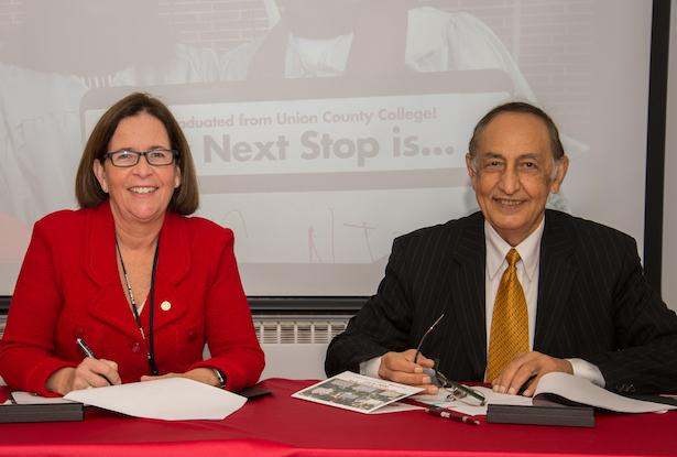 Kean University Signs Joint Admissions Agreement With Union County