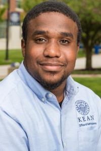 Kean University management student Garfield Hylton.