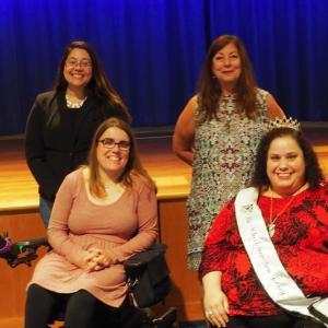 Dr. Norma Bowe and Millie Gonzales attend Reel Abilities Film Festival