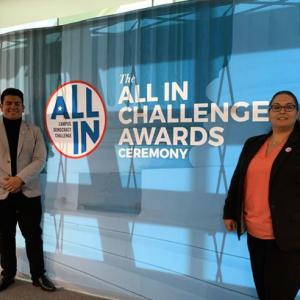 Kean students attend All in Challenge awards ceremony